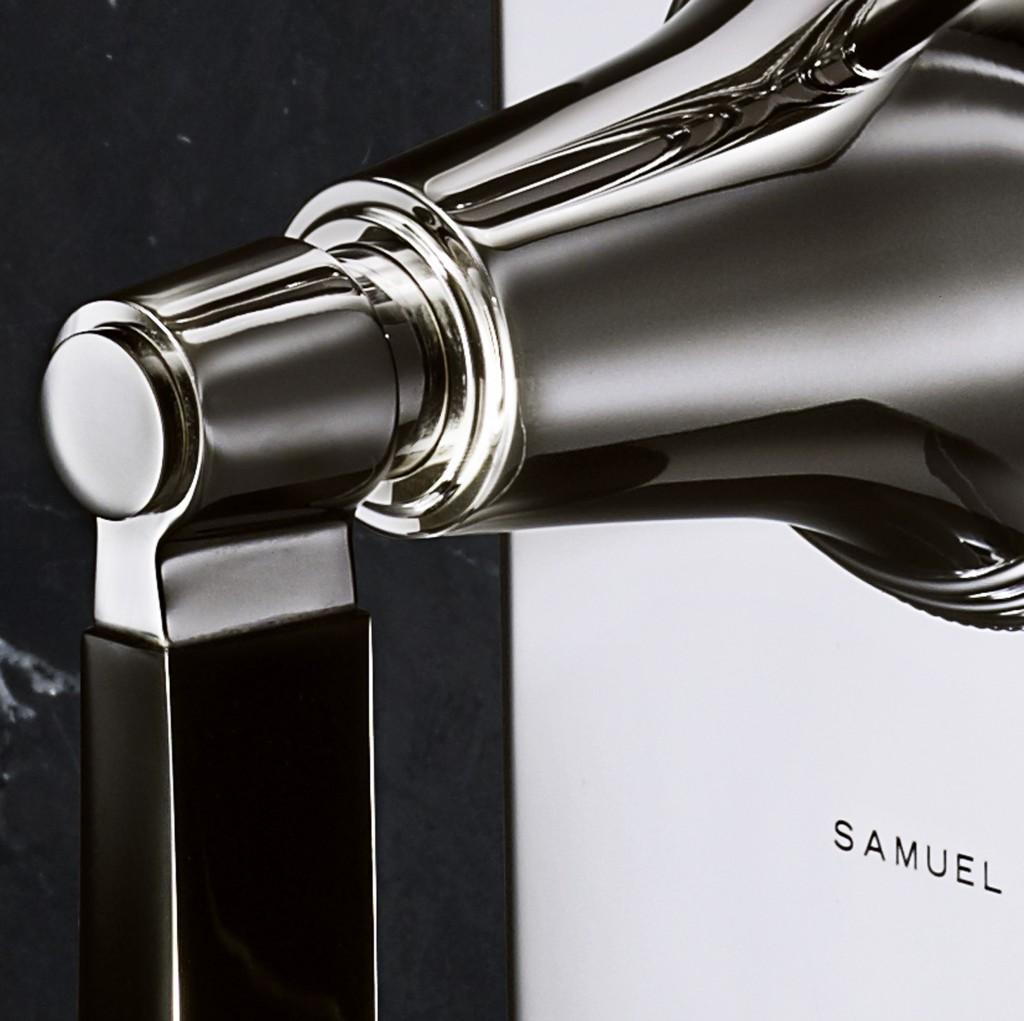 Samuel Heath's new Style Moderne  - detail
