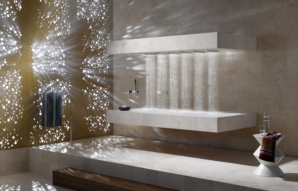 Dornbracht's Horizontal Shower
