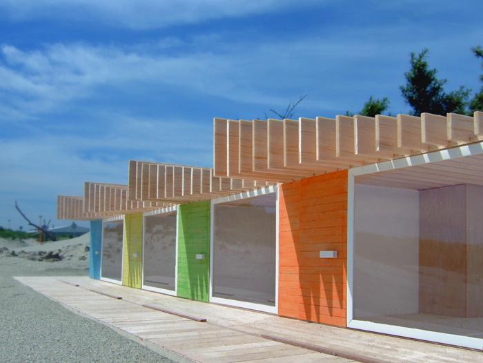 Reiner de Jong Bournemouth beach huts