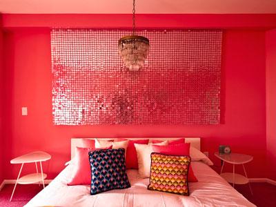 home by novogratz, review, interior design, HGTV, bold color, bedroom, kid's room, girl