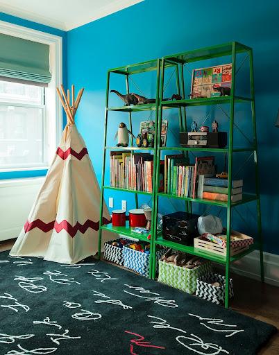 Home by Novogratz, interior design, HGTV, book review, bold color, kid's room, bedroom