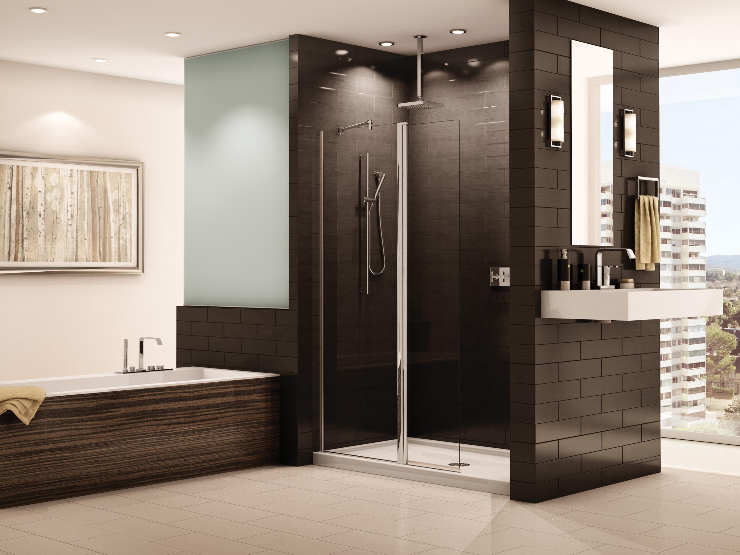KBIS 2013 spotlight: Fleurco shower enclosure and bath tubs
