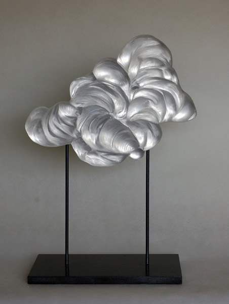 Cyrille Morin Createur Verrier, Maison et Objet, design show, sculpture, art, clouds