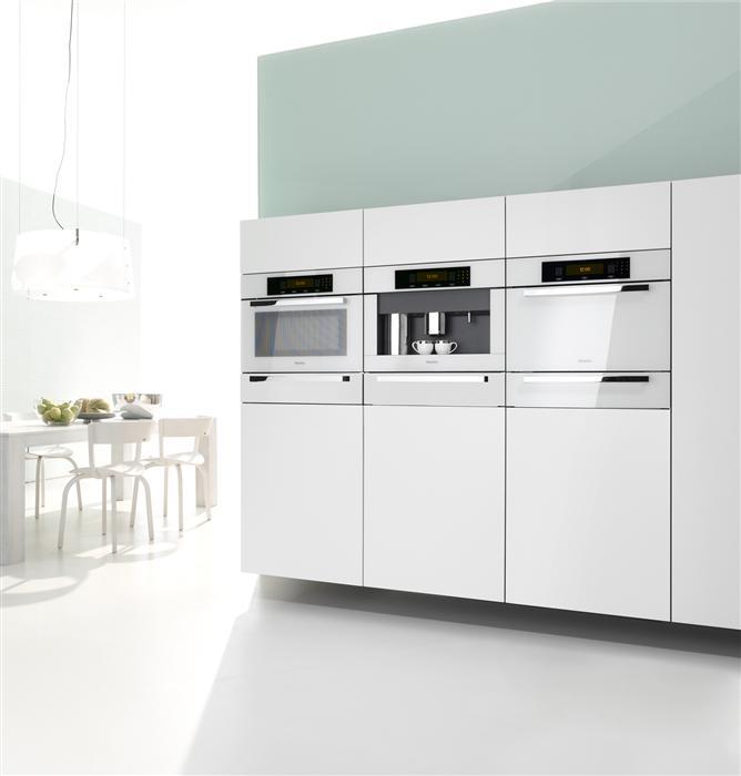 Miele white kitchen