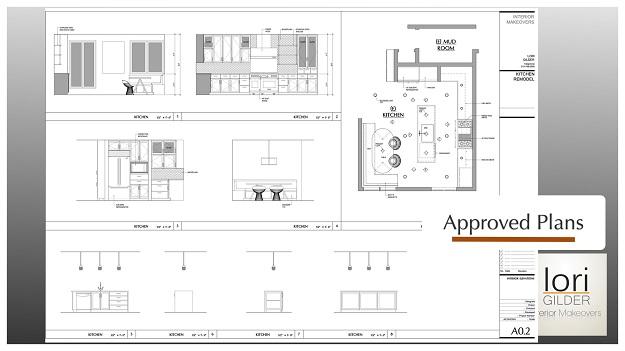 Lori Gilder beverly hills kitchen design floor plan