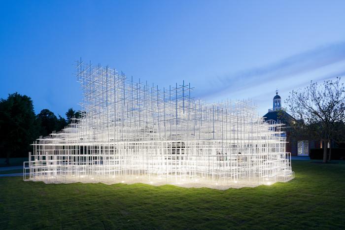 Serpentine Gallery Pavilion 2013 Designed by Sou Fujimoto © Sou Fujimoto Architects Image