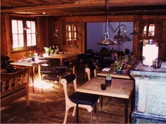 Heinz Julen restaurant design