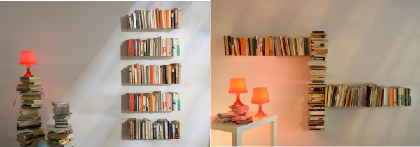 Library Bookshelf by Mauro Canfuri