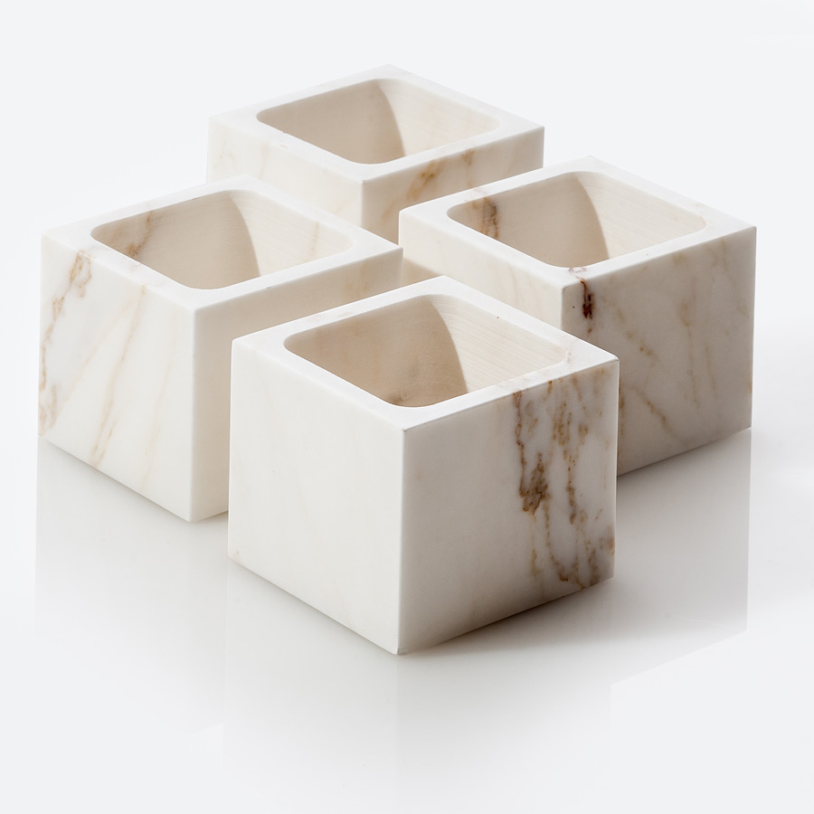 on entropy marble candle holder
