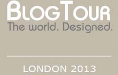 BlogTour Badge London 2013 (tan & white)