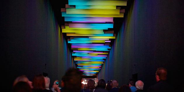 100 percent design tunnel entryway BlogTour London