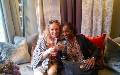De le Cuona Marilyn and Laura BlogTour London