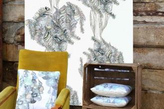 Seascape curiosities sea tangle wallpaper