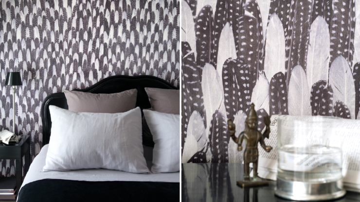 Birds Of A Feather Plume Patterns Are A Soaring Trend For 2014