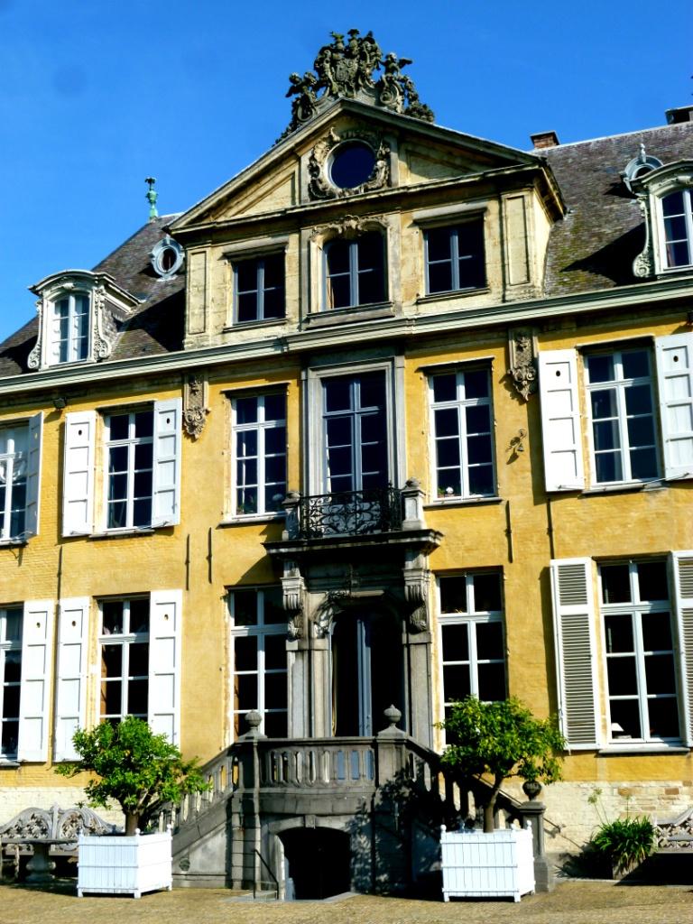 entrance to vervoordts castle  Gravenwezel