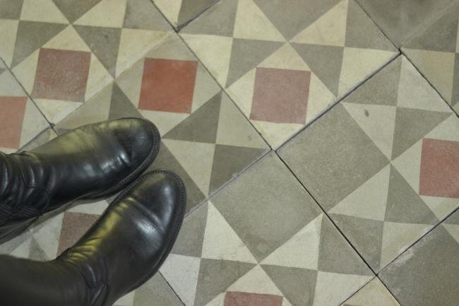 Bert and May custom tile