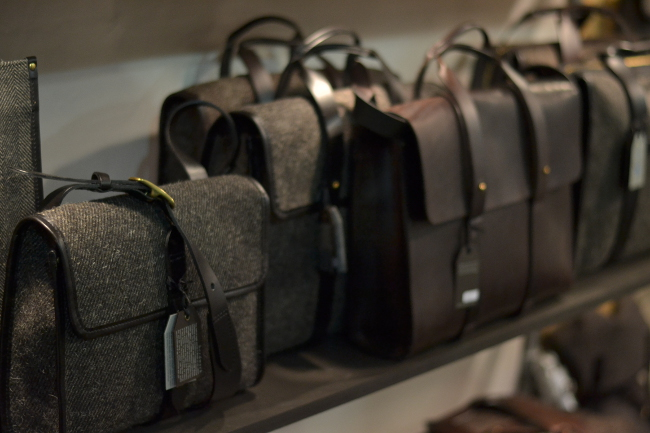 Cherchbi leather goods and accessories  in felt