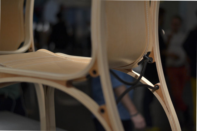 Christian Valdes chair at design junction