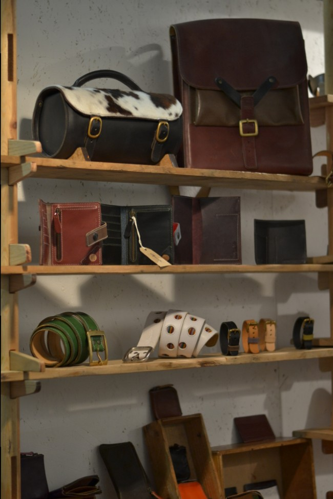 Wolfham and Lohr leather goods and accessories