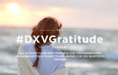DXV gratitude