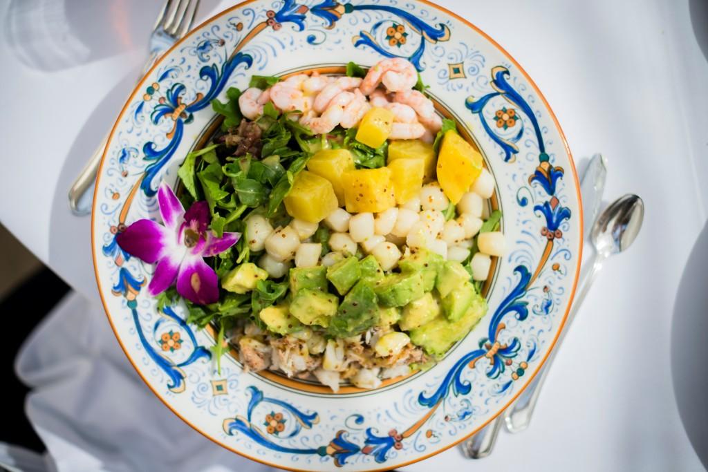 Fish salad culinary cuisine santa barbara california blog tour cali design