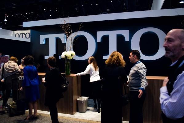 TOTO KBIS 2015 BlogTour Vegas