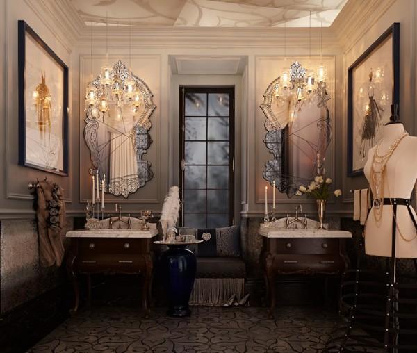 Regina Sturrock captures the emotions of Anna Karenina in her luxury bath design for DXV