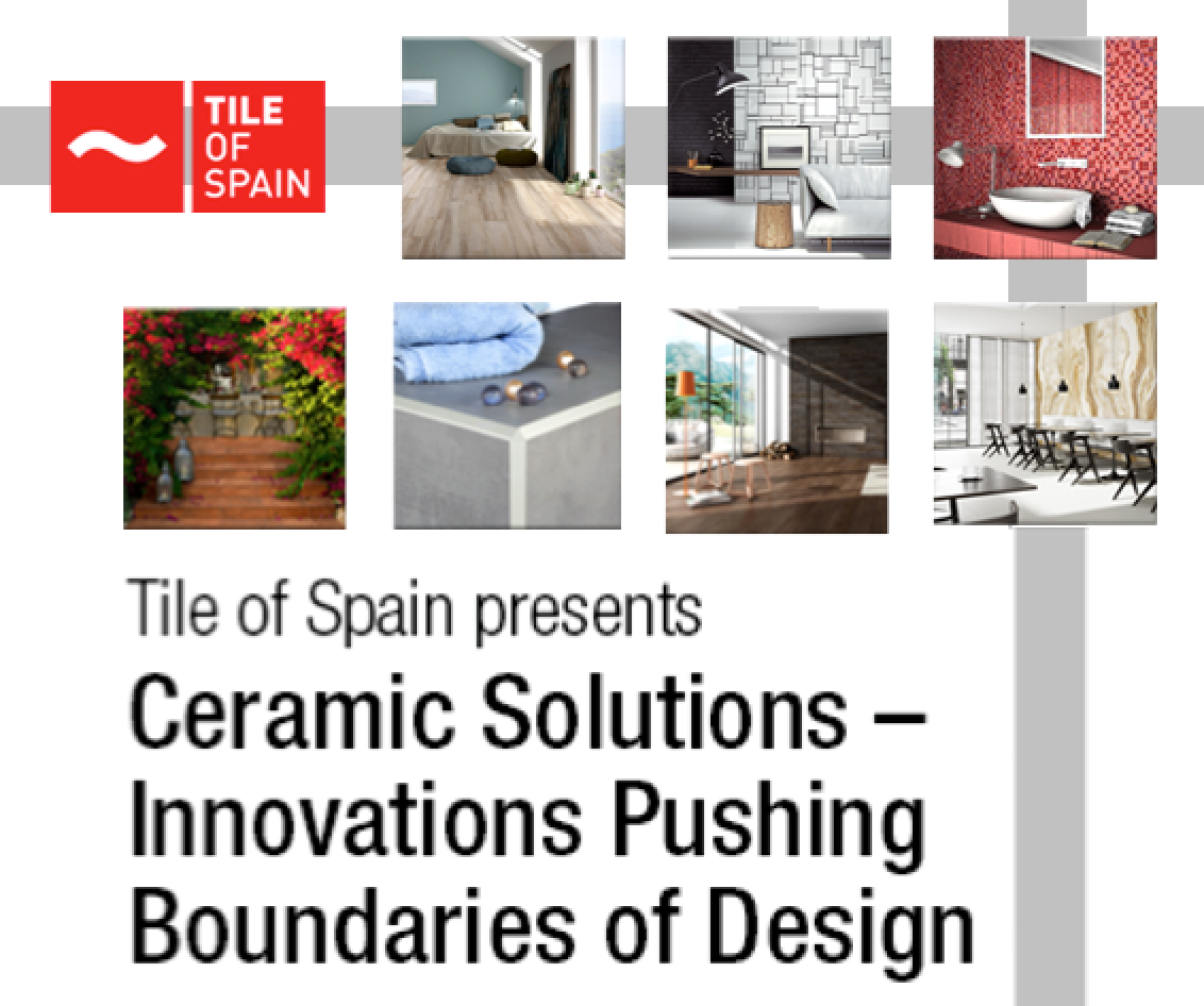 Join Tile Of Spain For Ceramic Solutions At The Miami Center Architecture And Design