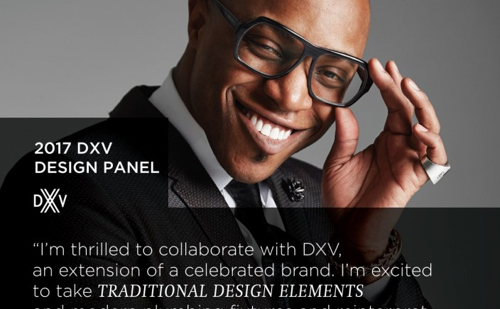 DXV Design Panel 2017 - Corey Damen Jenkins kicks up the color in the Classics