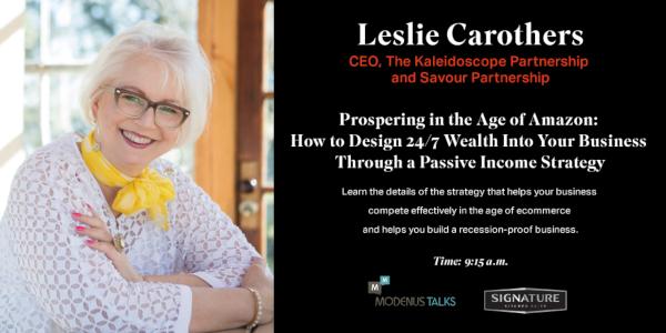Leslie Carothers SKS Modenus Talks