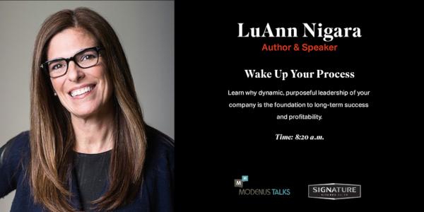 LuAnn Nigara SKS Modenus Talks