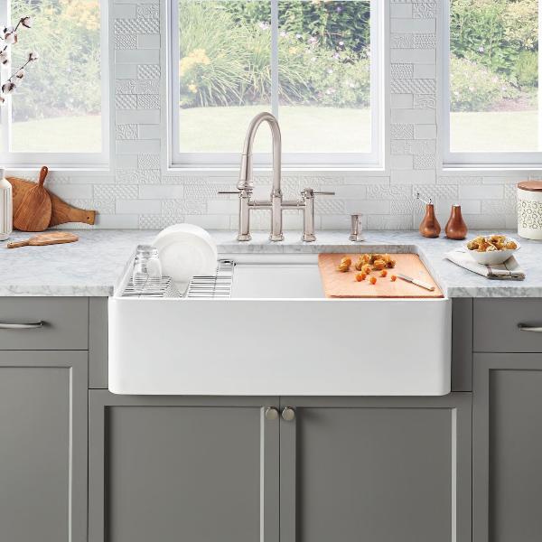BLANCO sink fireclay apron sink