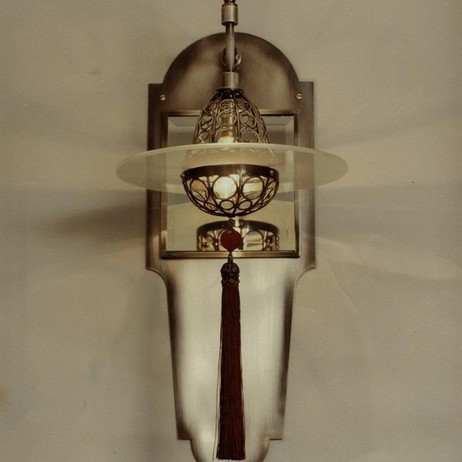 cardinal hat sconce  by Lutyens Furniture & Lighting