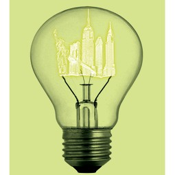 """Bulb"" Print by Paste + Jason Laurits"
