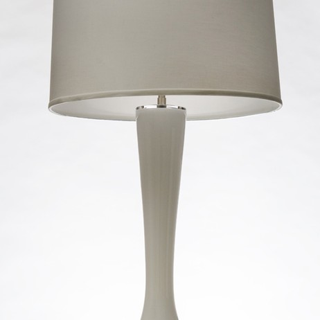 Trumpet Table Lamp by Eidos Glass Designs, LLC.
