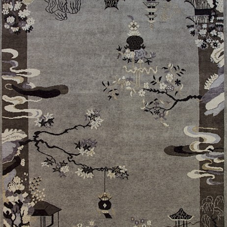 The Asian Reserves  by FRENCH ACCENTS RUGS AND TAPESTRIES, INC.