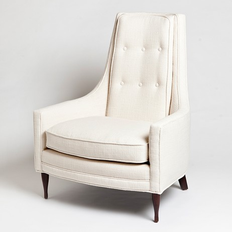 Wayne Chair-Ivory by Studio A
