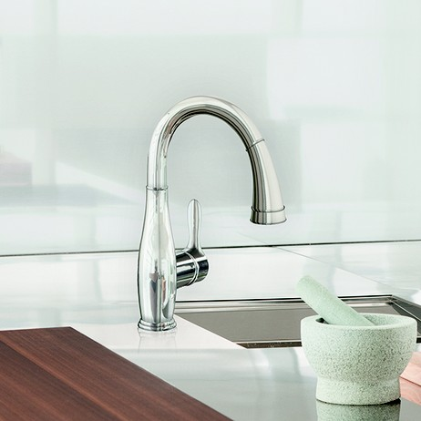 "Parkfield Single-lever sink mixer 1/2"" by GROHE America"