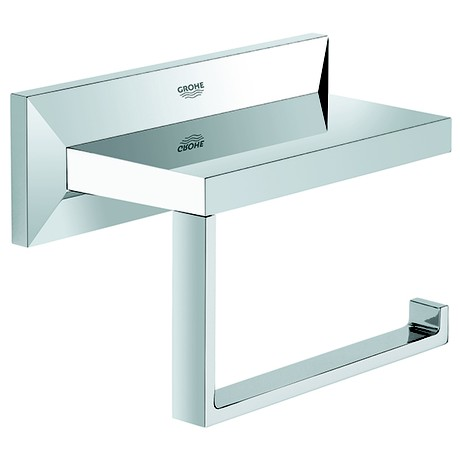Allure Brilliant Toilet Paper Holder by GROHE America
