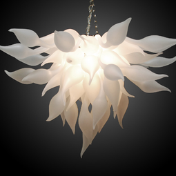 Bella Fiore Chandelier by Seth Parks Glass