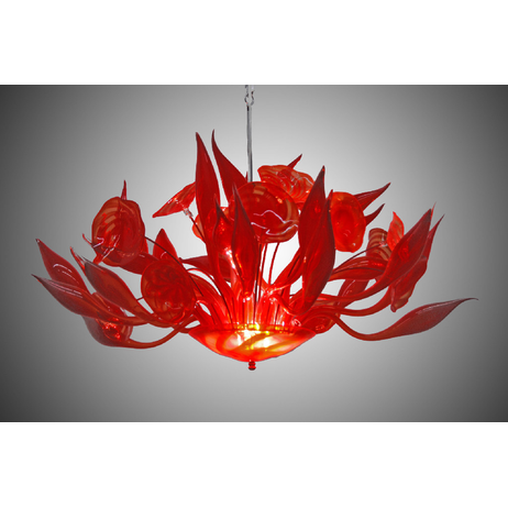 Fiore Chandelier by Seth Parks Glass