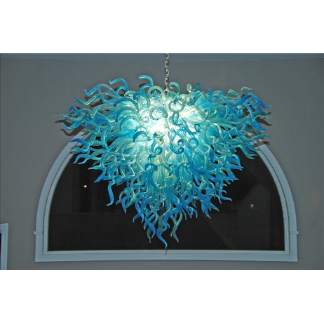 Anemone Chandelier by Seth Parks Glass