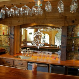 Barn Style Bar Tops and Bar Accesso by Edmund Terrence LLC