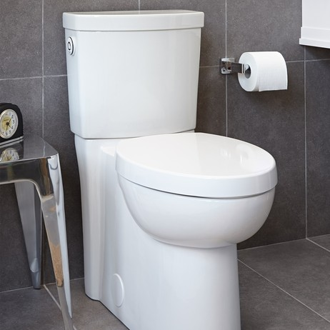 Studio Activate Right Height Round Front Toilet by American Standard