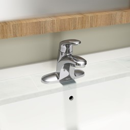 Colony®PRO Single-Handle Bathroom Faucet with Metal Drain by American Standard