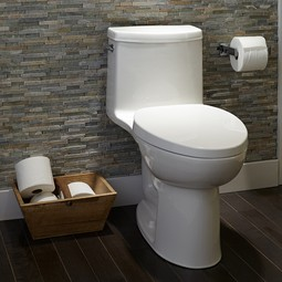 Loft Right Height Elongated One-Piece Toilet by American Standard