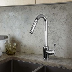 Pekoe 1-Handle Pull Down High-Flow Kitchen Faucet