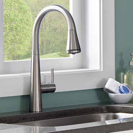 Edgewater Pull-Down Kitchen Faucet with SelectFlo by American Standard