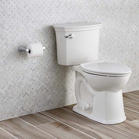 ActiClean Self-Cleaning Right Height Elongated 1.28 GPF Toilet by American Standard