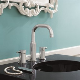 Serin 2-Handle 8 Inch Widespread High-Arc Bathroom Faucet by American Standard